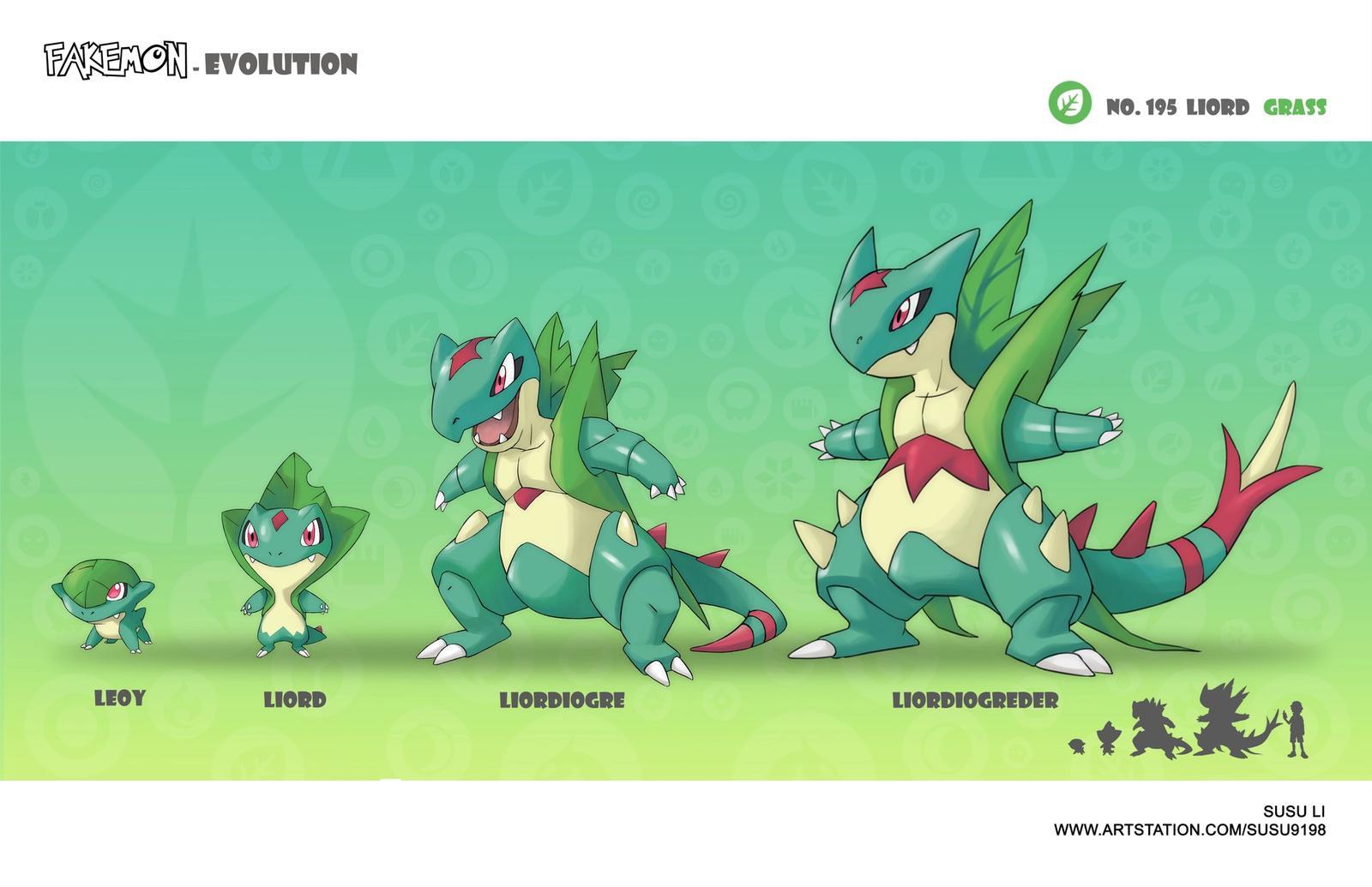 Liord - Fakemon Evolution