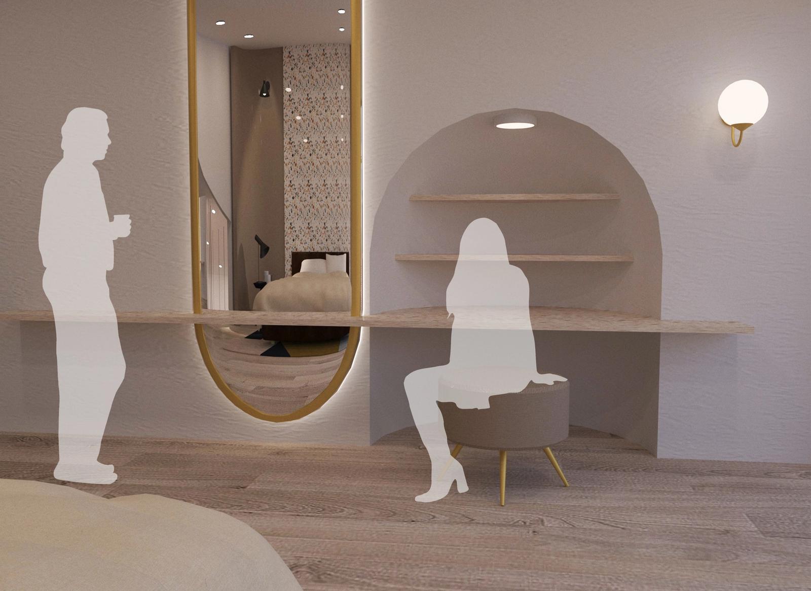 Artist Studio - Bedroom 1