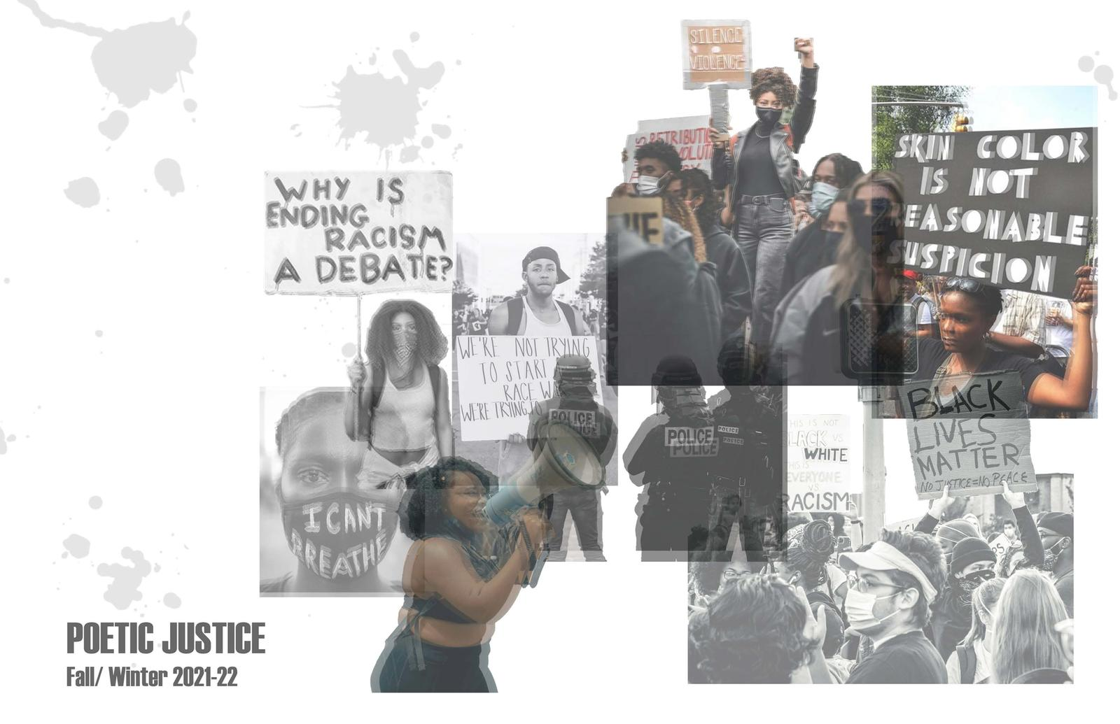 Poetic Justice Concept/Mood board