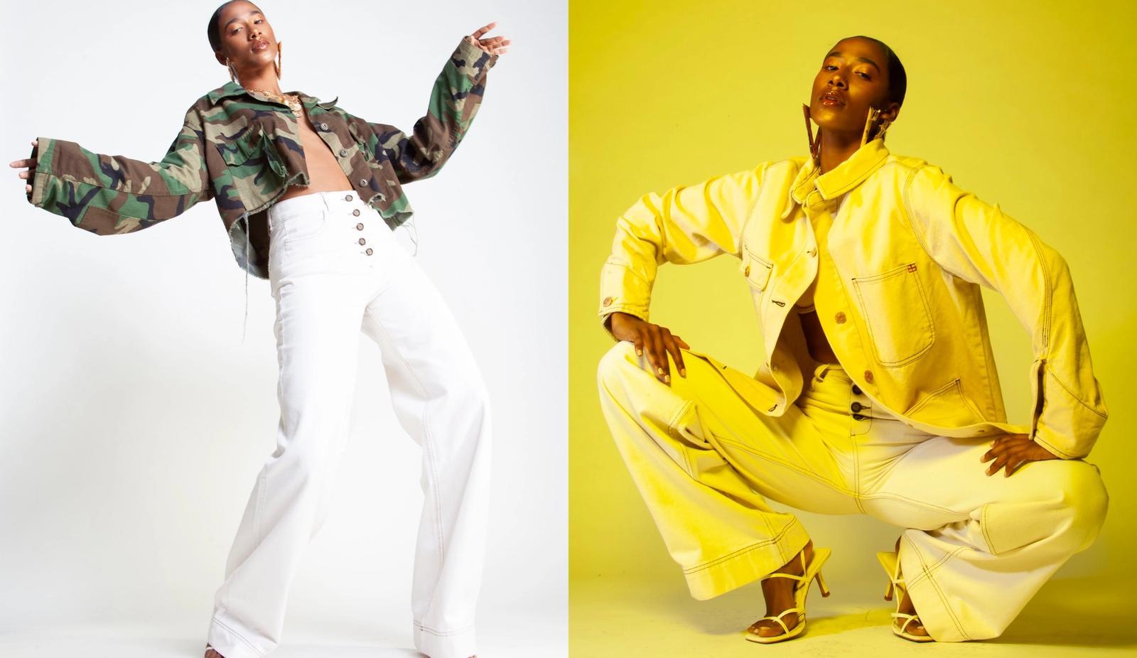 Stylist: Anita Johnson, Photographer: Yi Jeat, Model: Deja Tenise