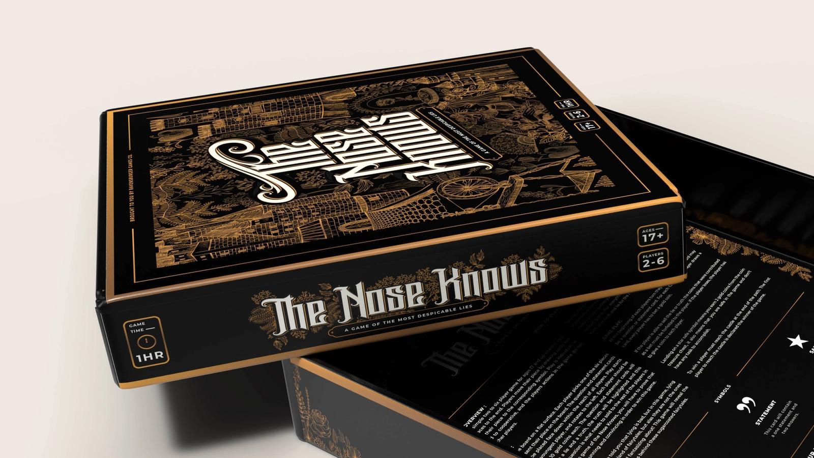 The Nose Knows // Board Game Design