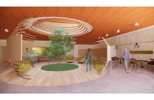 Community Centre Design - Courtyard
