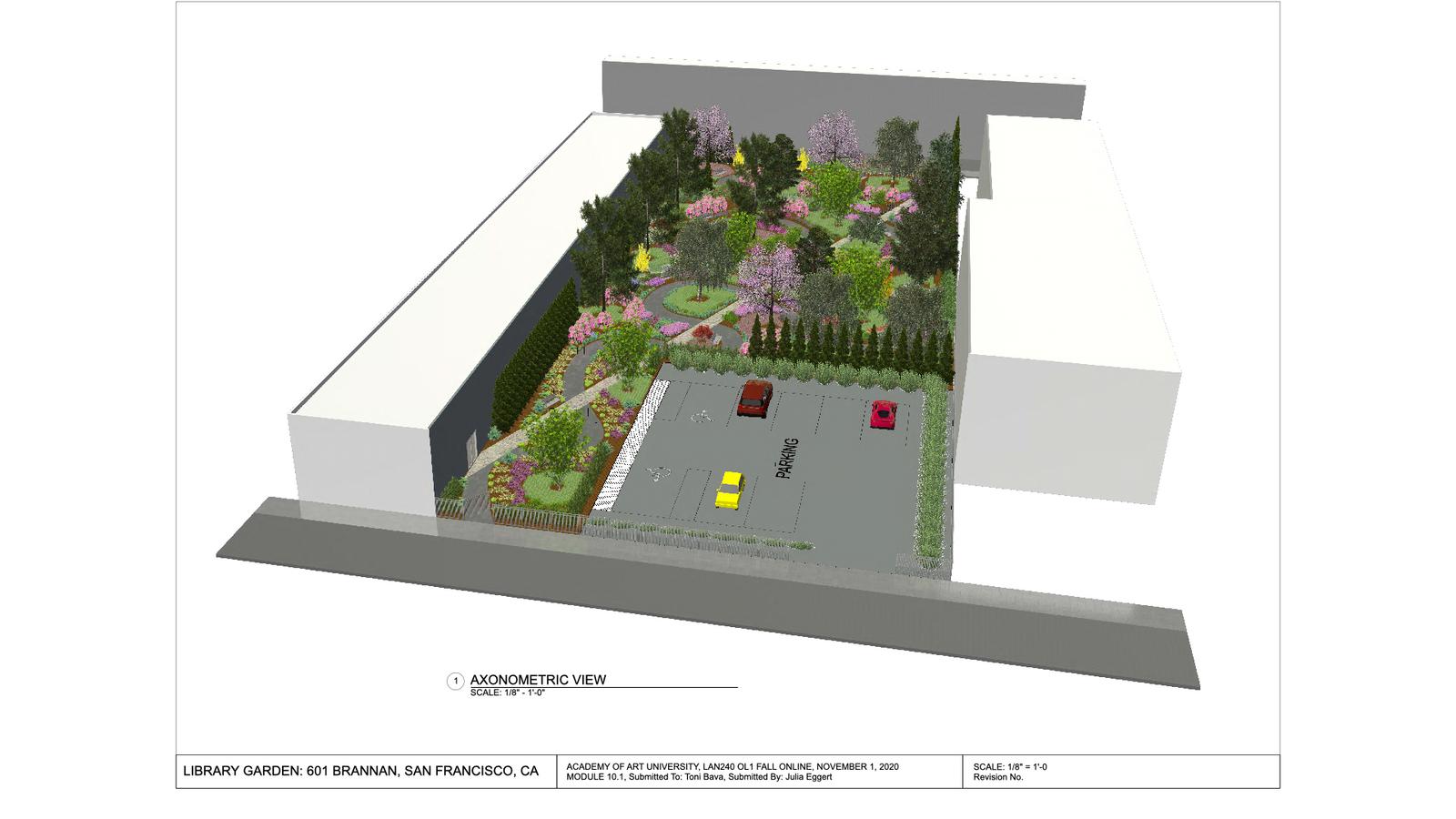 Library Garden for 601 Brannan Street Site 12