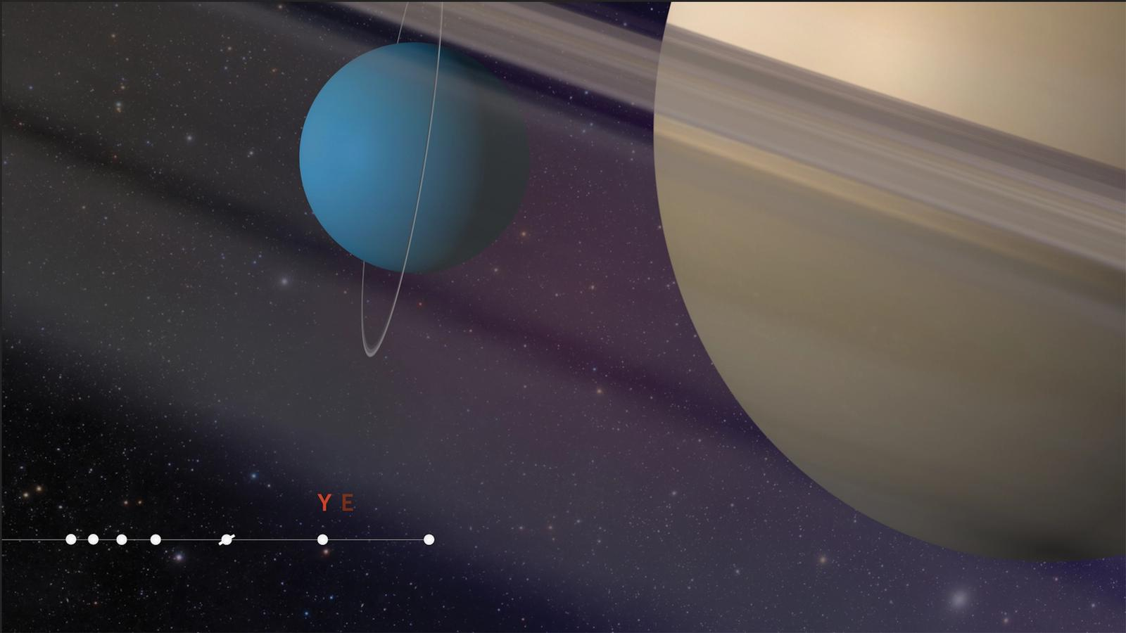 The Planets Trailer // Motion Graphics