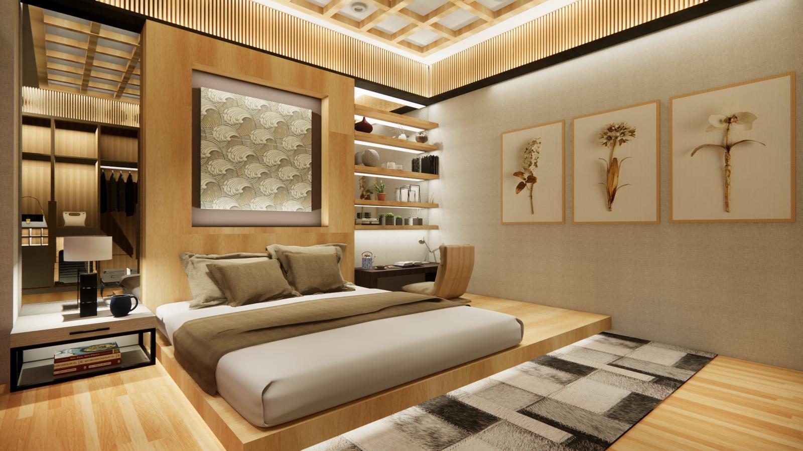 Naniwa Senior Living Center - Apartment Unit's Bedroom 2