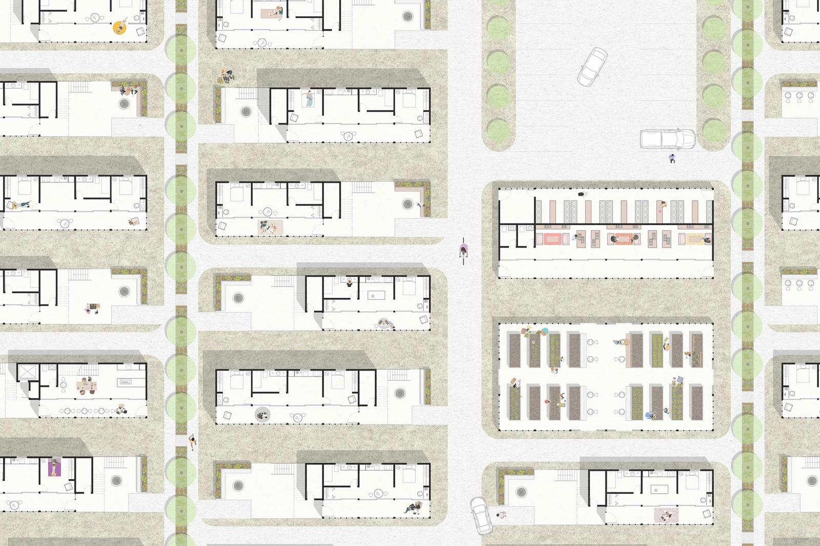 Outer Mix - Investigating mixed-use development as a means to fostering a healthy, year-round community on the Outer Cape - Plan 5 - Community Block B