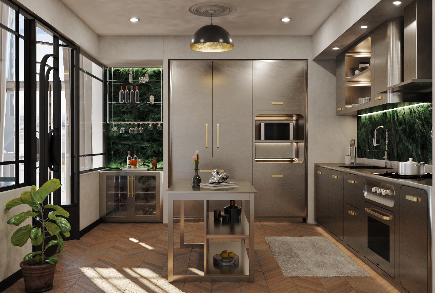 The Green Bugatti - Kitchen 2