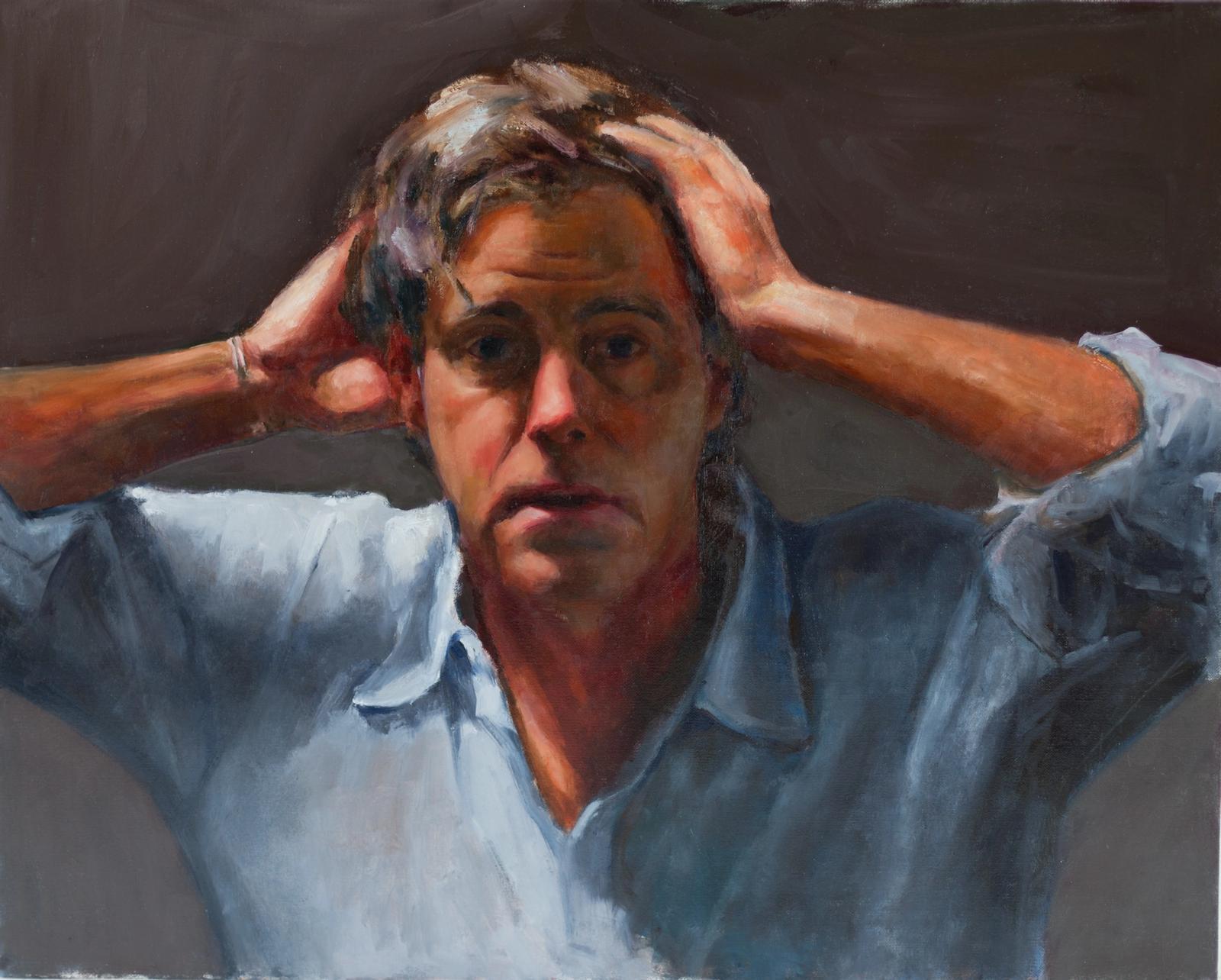 Desperate Man, a nod to Courbet