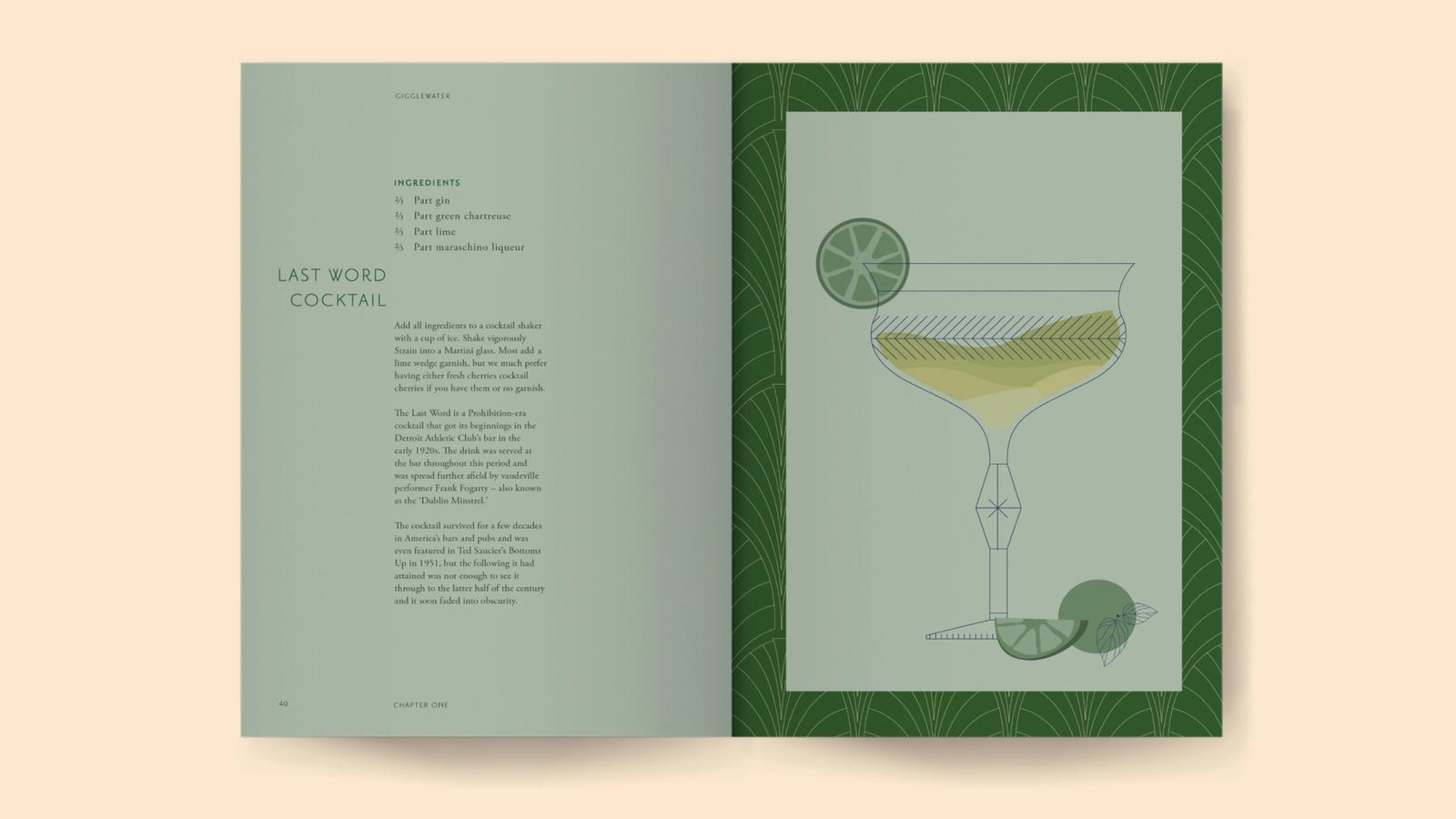 Giggle Water // Prohibition Themed Cocktail Book