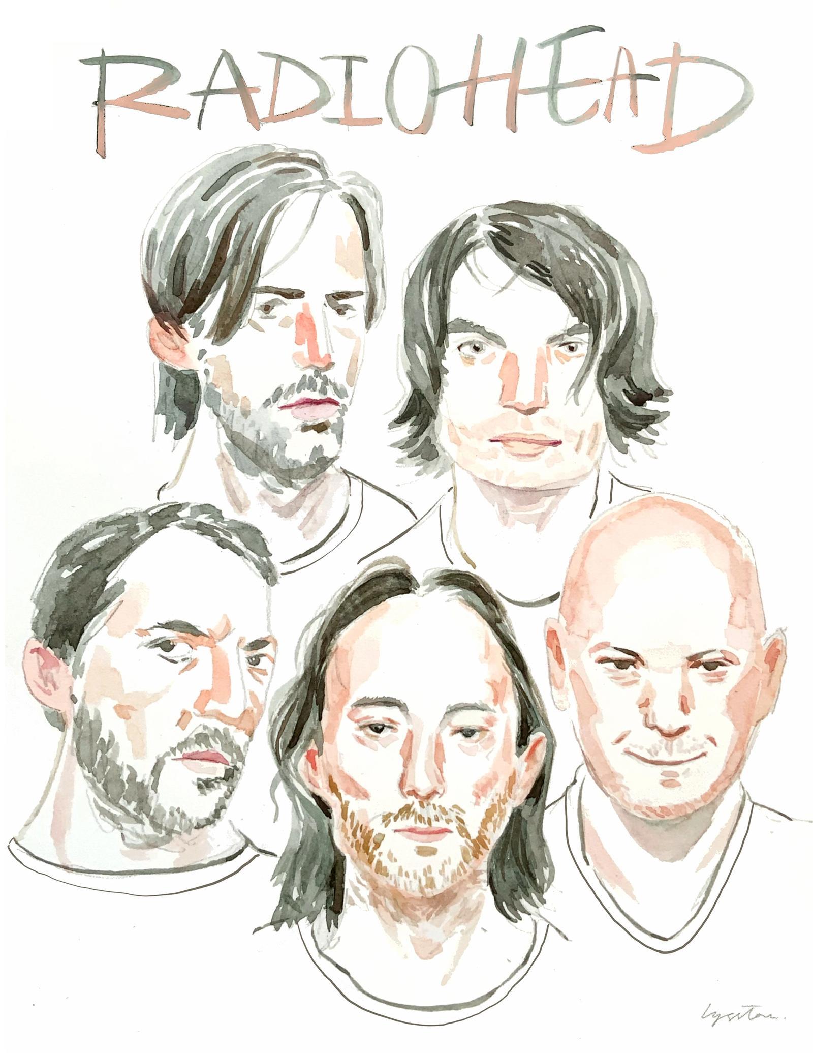 Portrait of Music Band