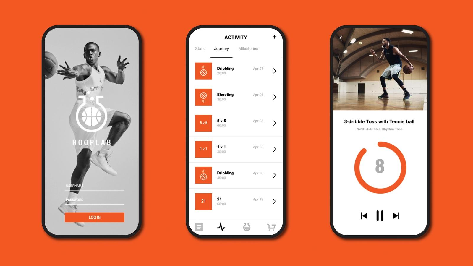 HoopLab // Mobile App