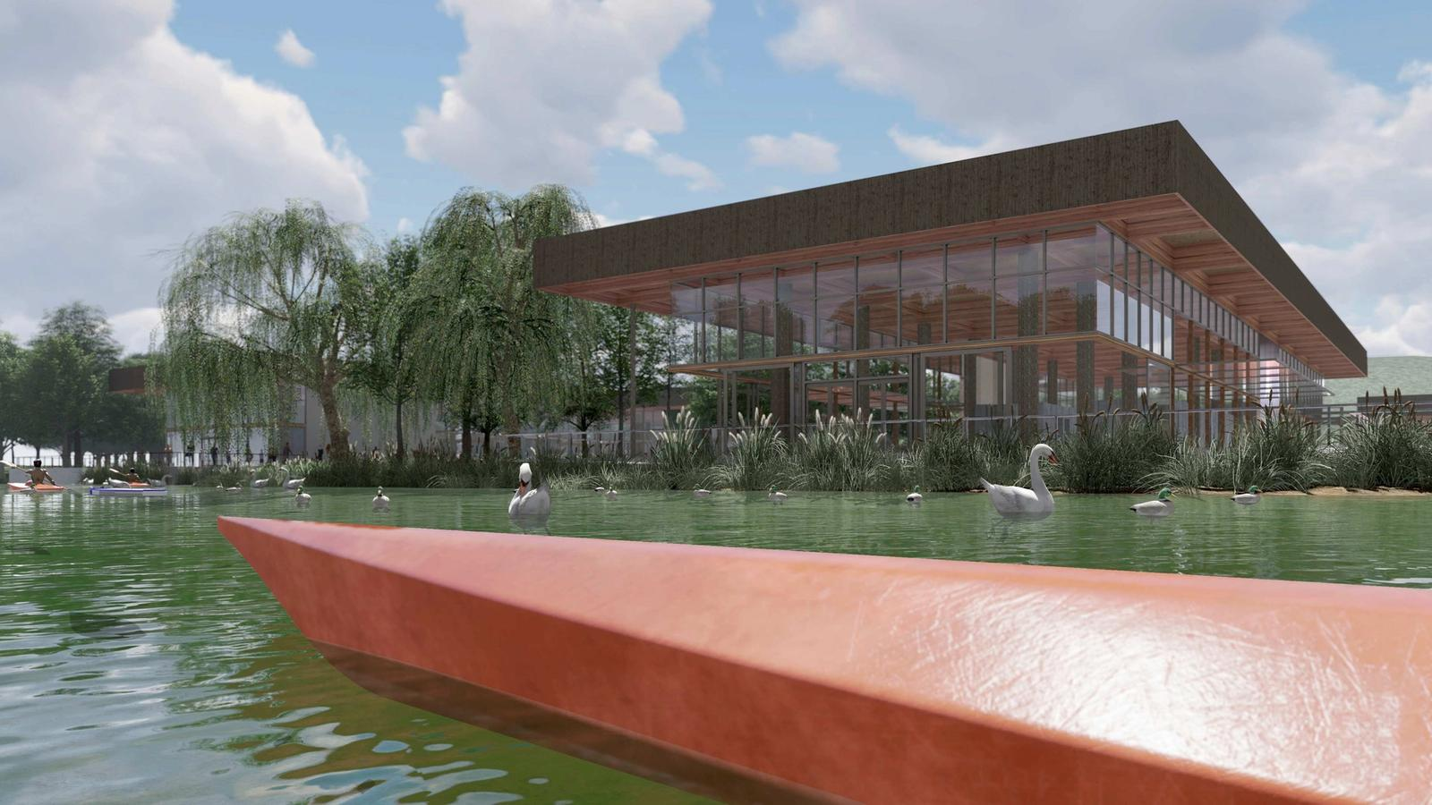 Eco-Tecture - Unifying Ecology with Architecture - View from Water