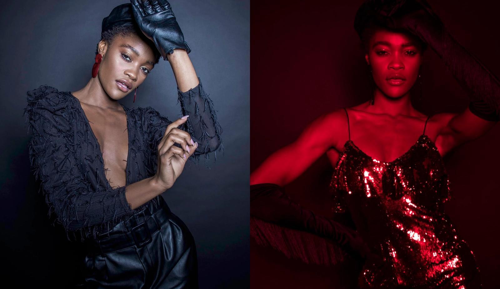 Stylist: Anita Johnson, Photographer: Yi Jeat, Model: LaSha