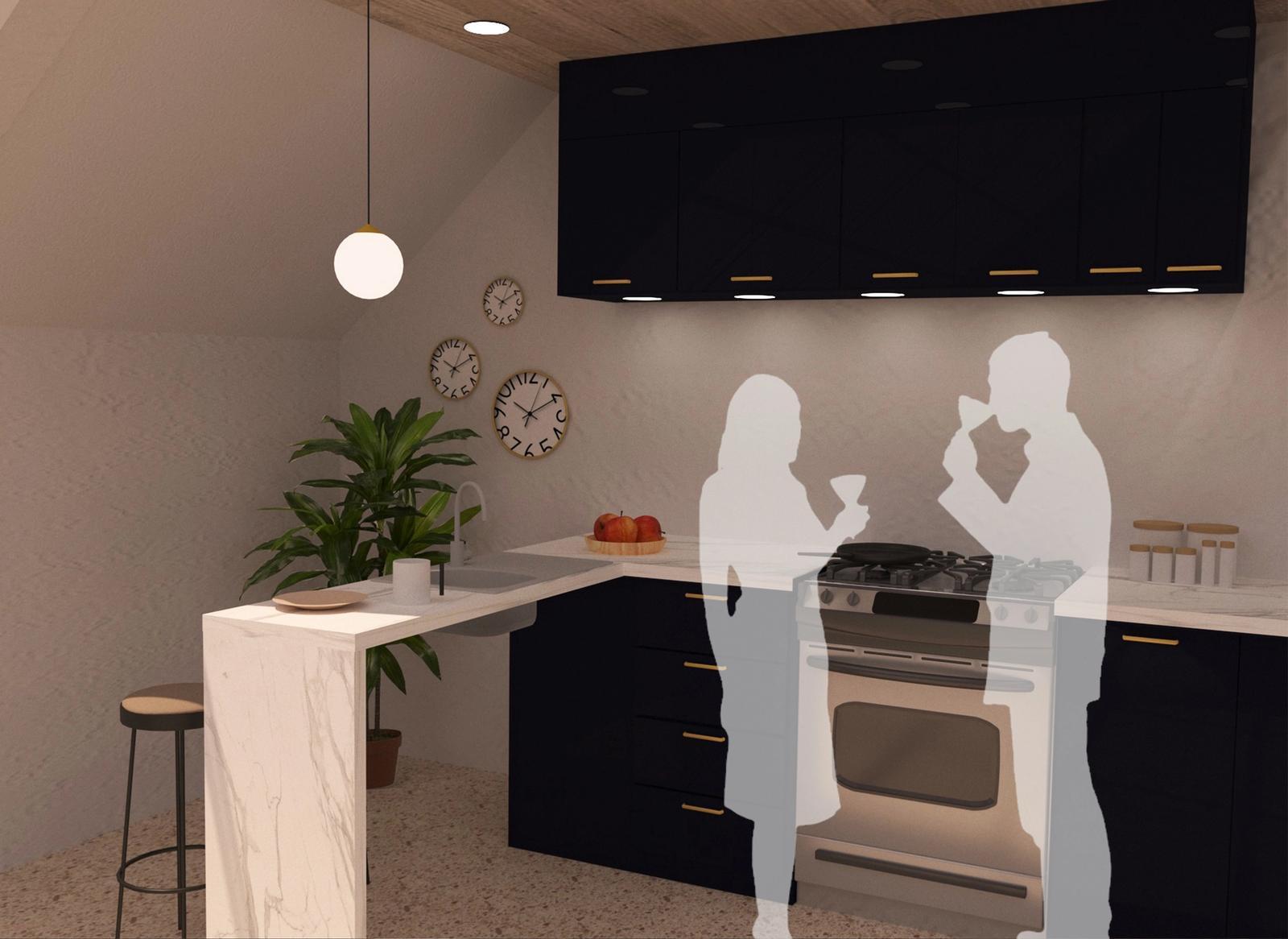 Artist Studio - Kitchen