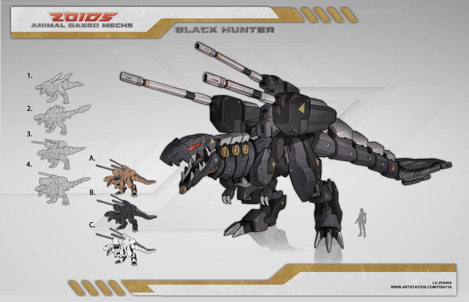 Black Hunter - Zoids