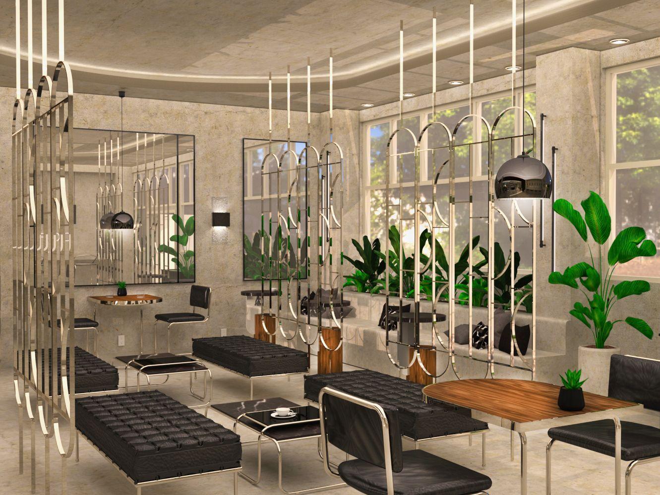 Coffee Haus Cafe - Lounge Area