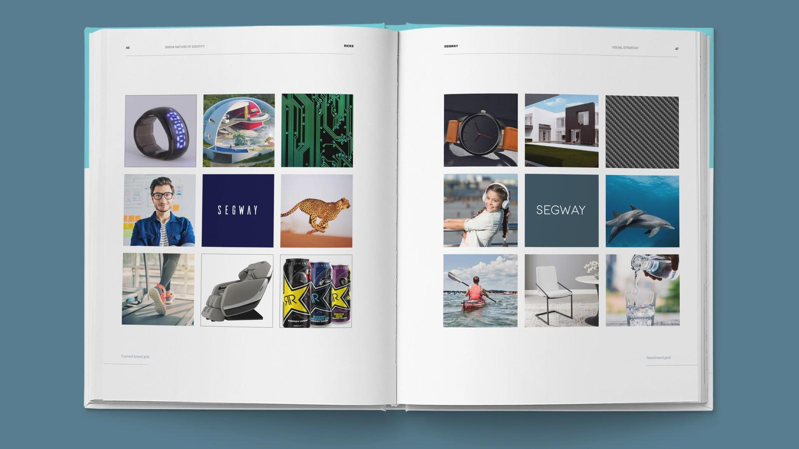 Segway Rebrand // Visual Strategy Guide