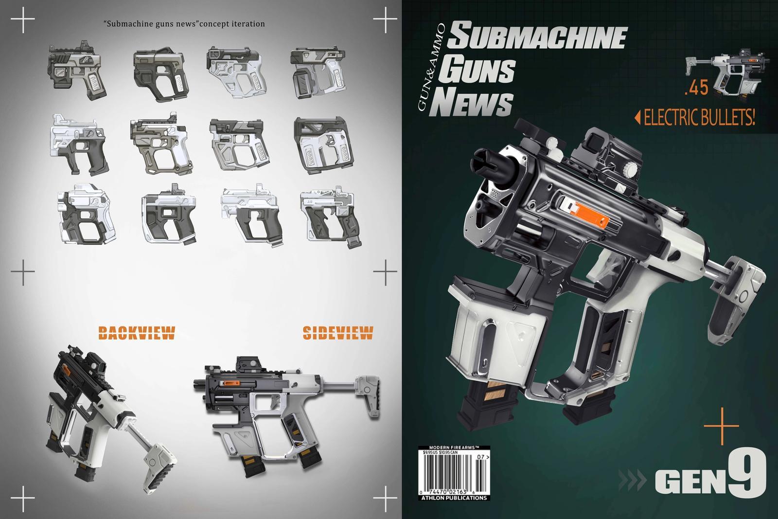 Submachinegun