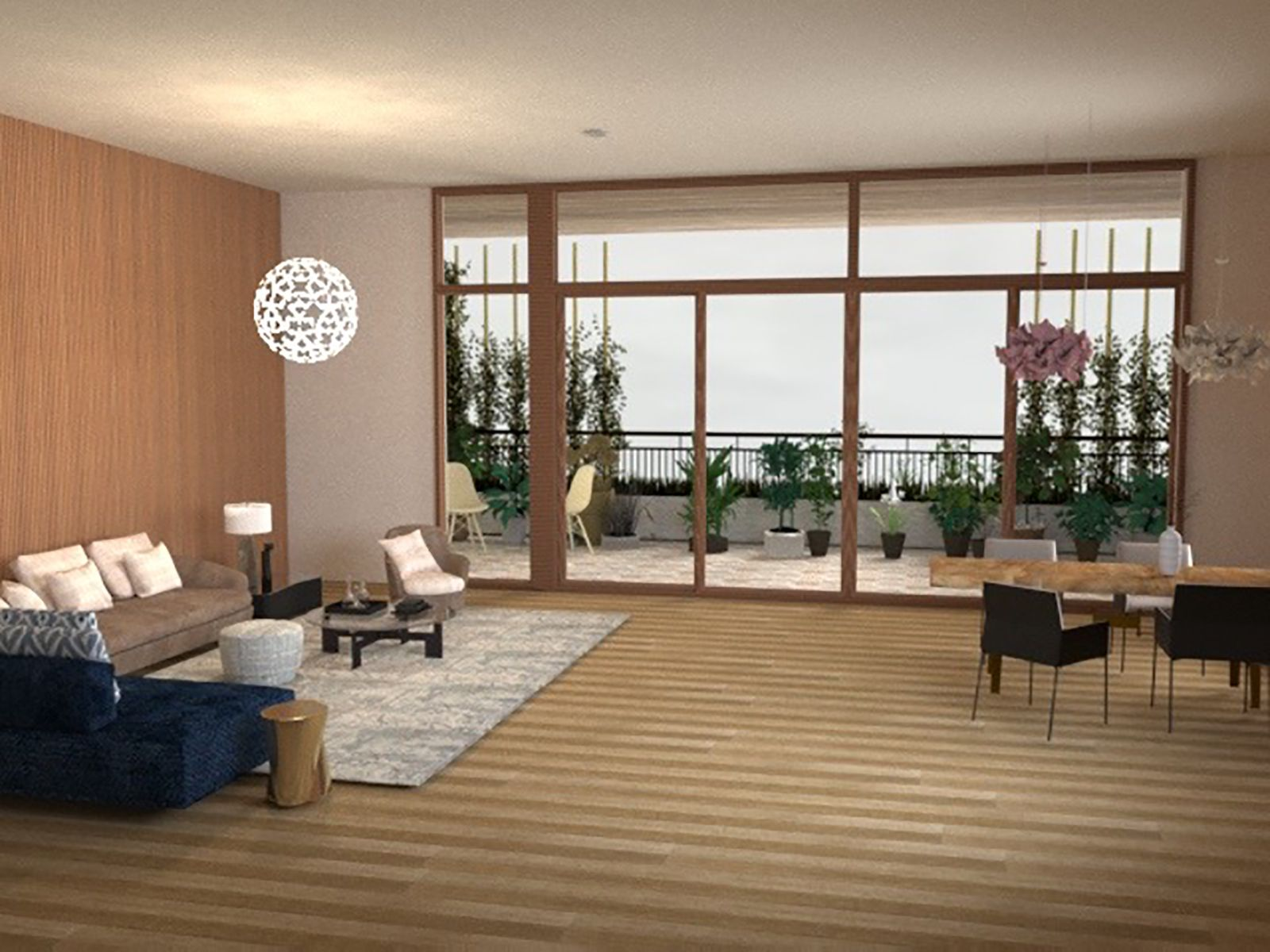 Ecolution - Living Room View 2