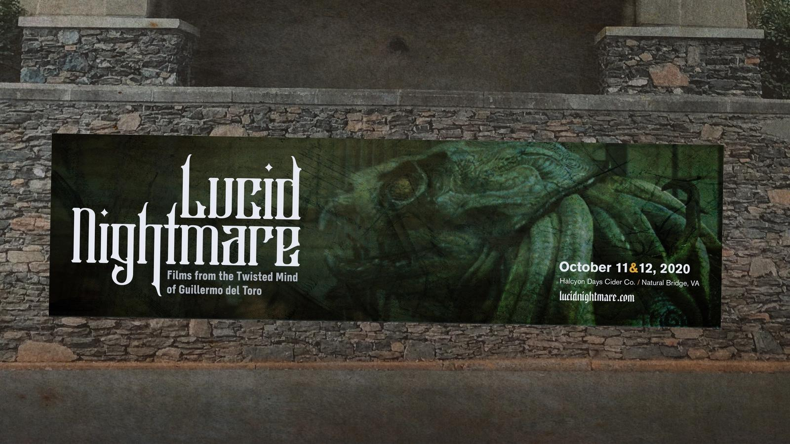 Lucid Nightmare // Guillermo del Toro Film Festival Advertising