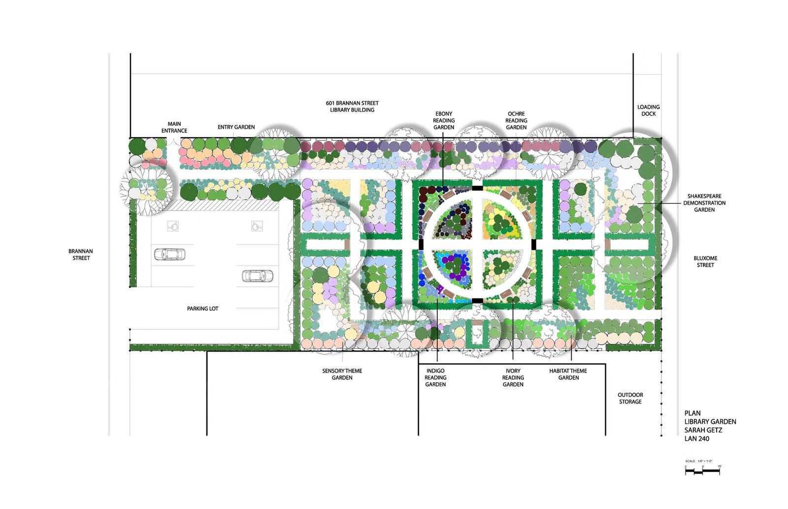 Library Garden for 601 Brannan Street Site 22