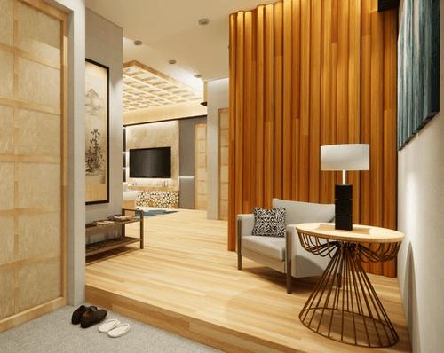 Naniwa Senior Living Center - Apartment unit's entrance