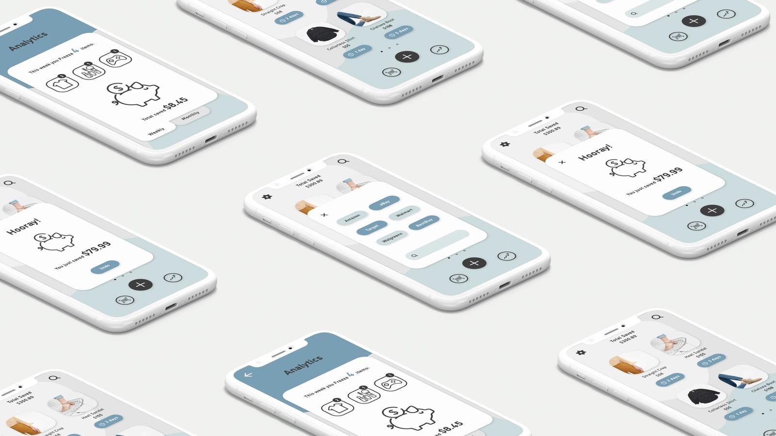 FreezR // Mobile Application