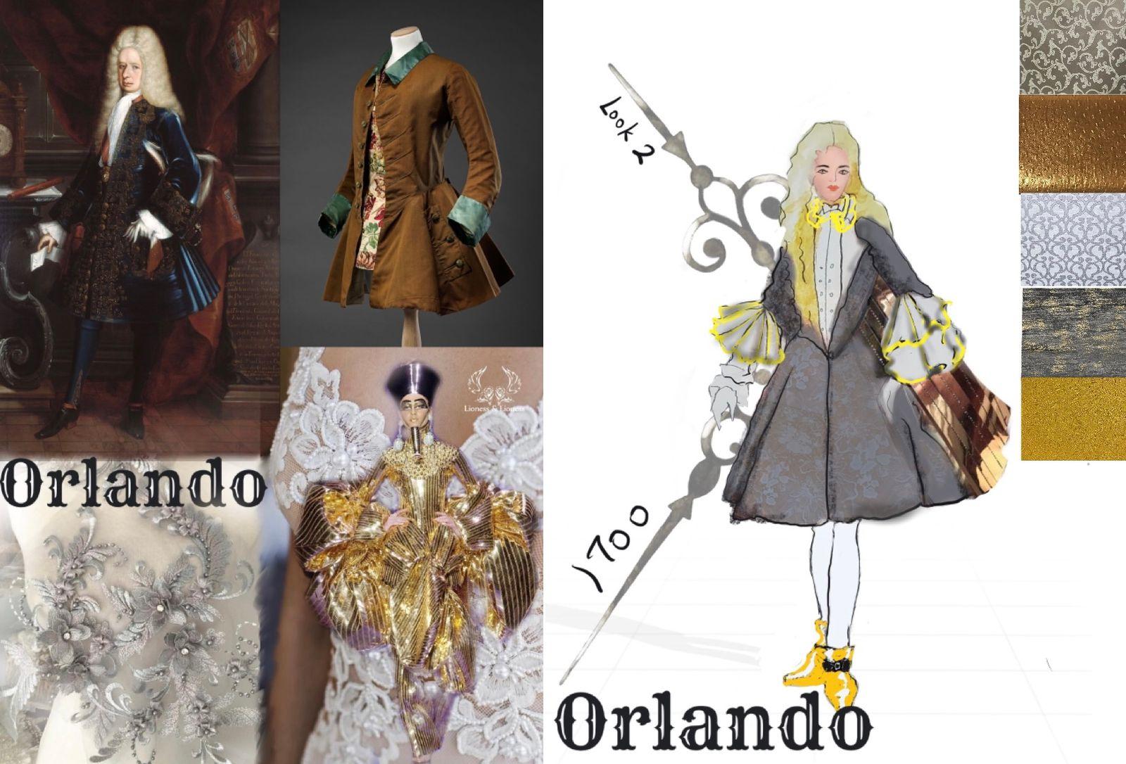 Costume Design Rendering