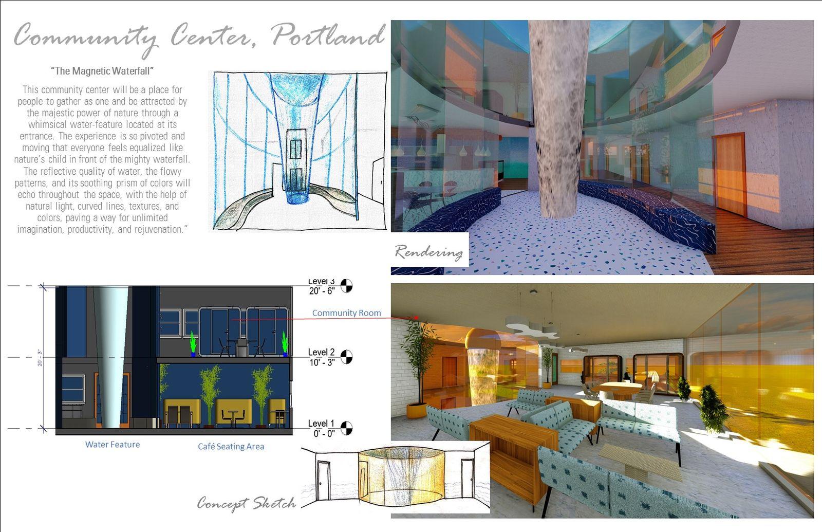 Community Center - Design Process