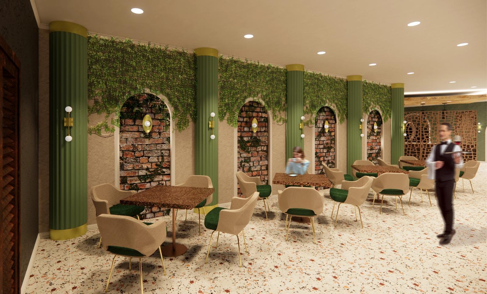Tu David Phu's Restaurant - Open Dining Space