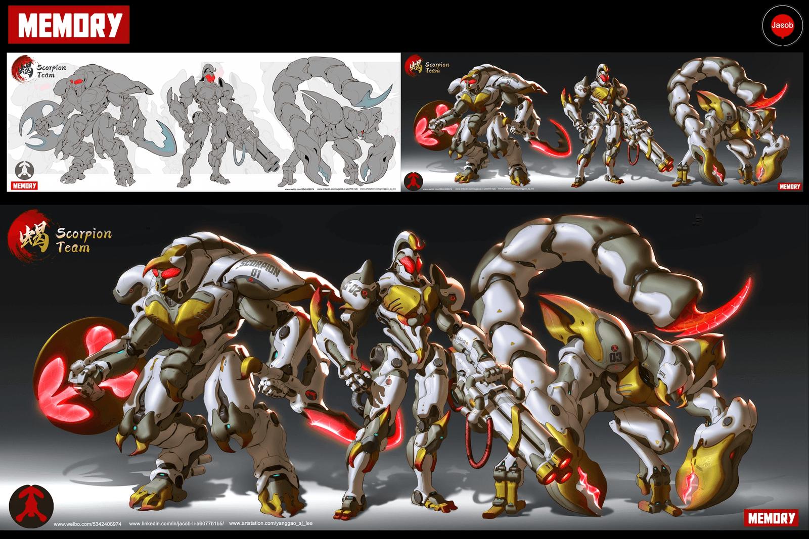 Memory: Scorpion Team