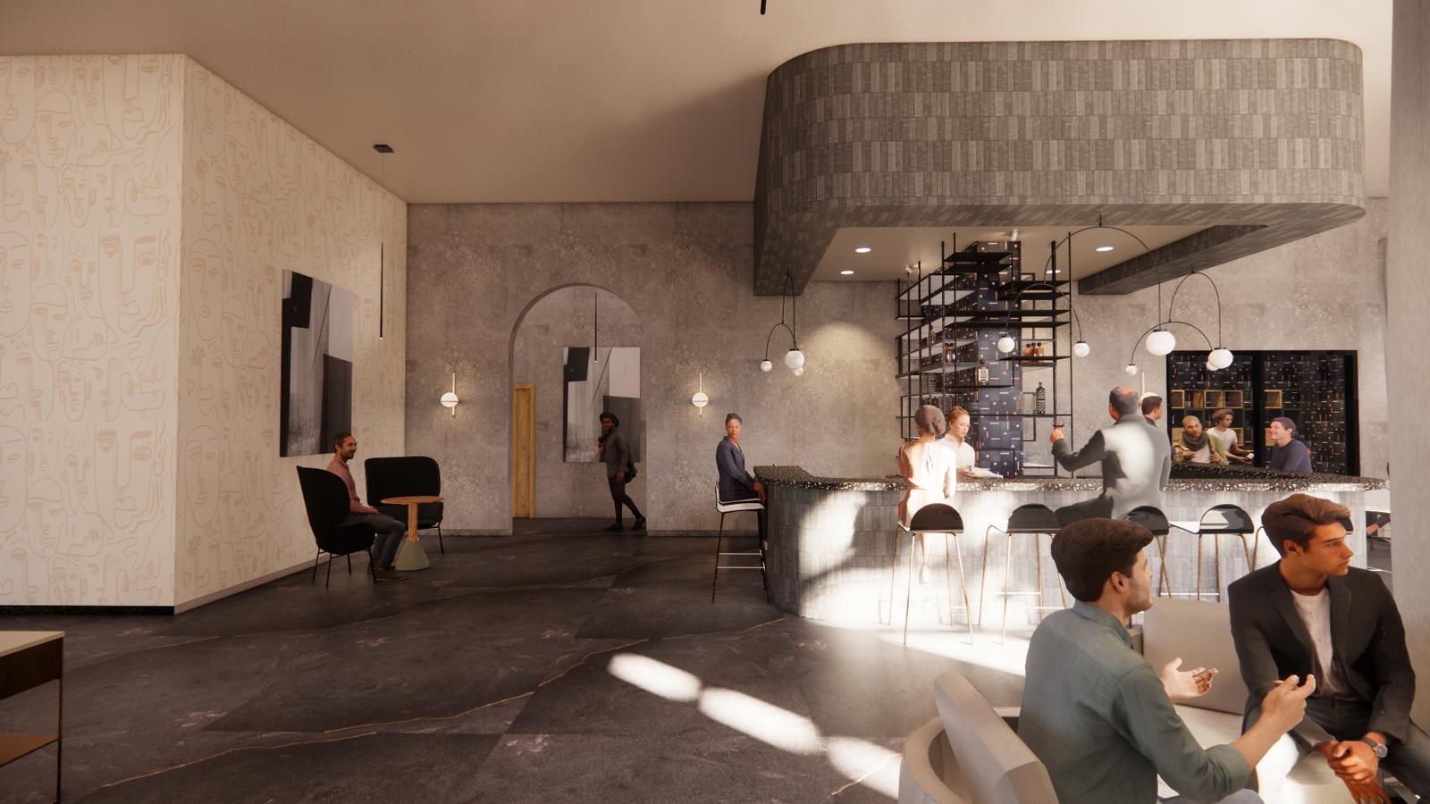 Hyphy Bar & lounge area 2