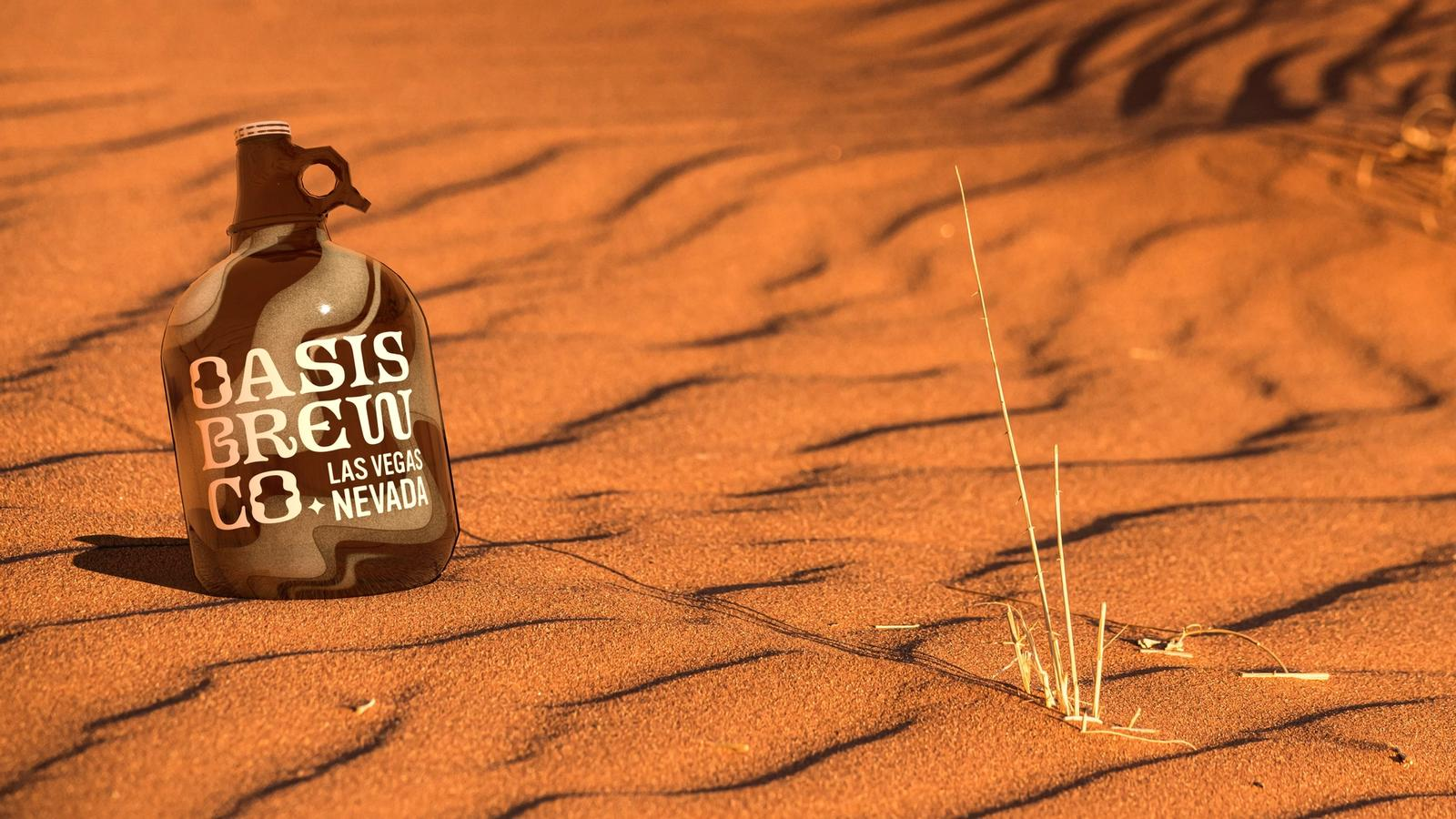 Oasis Brewing Company // Growler
