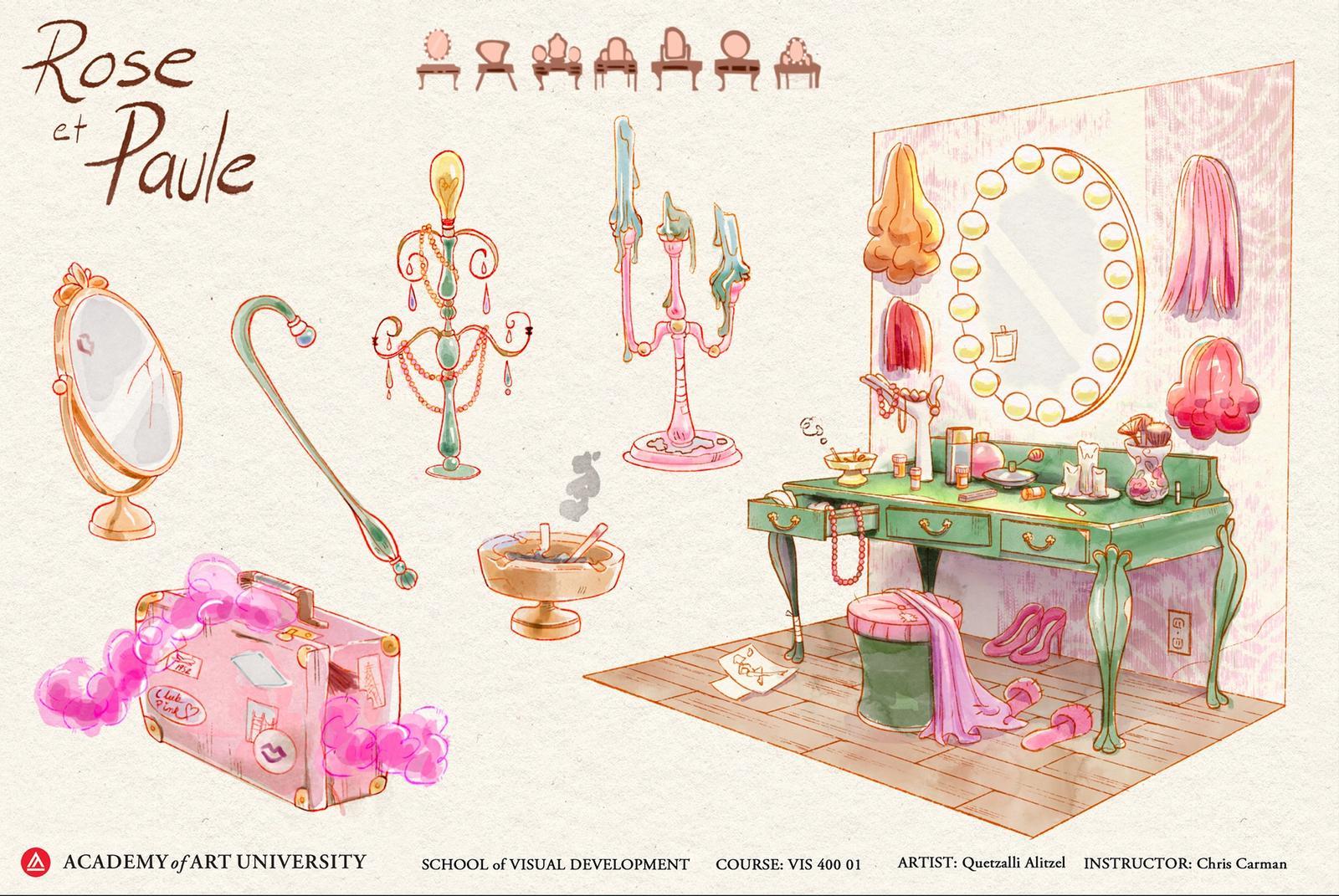 Rose's Vanity - Quetzalli Alizel Maldonado Osorio