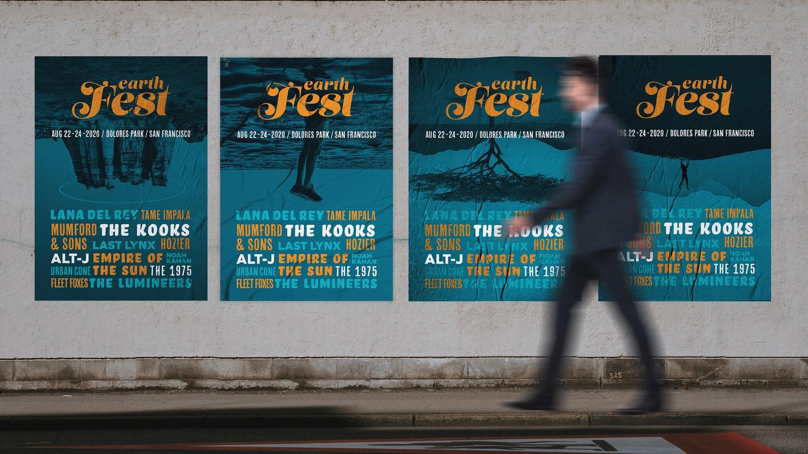 Earth Fest Climate Change Music Festival // Outdoor Advertising