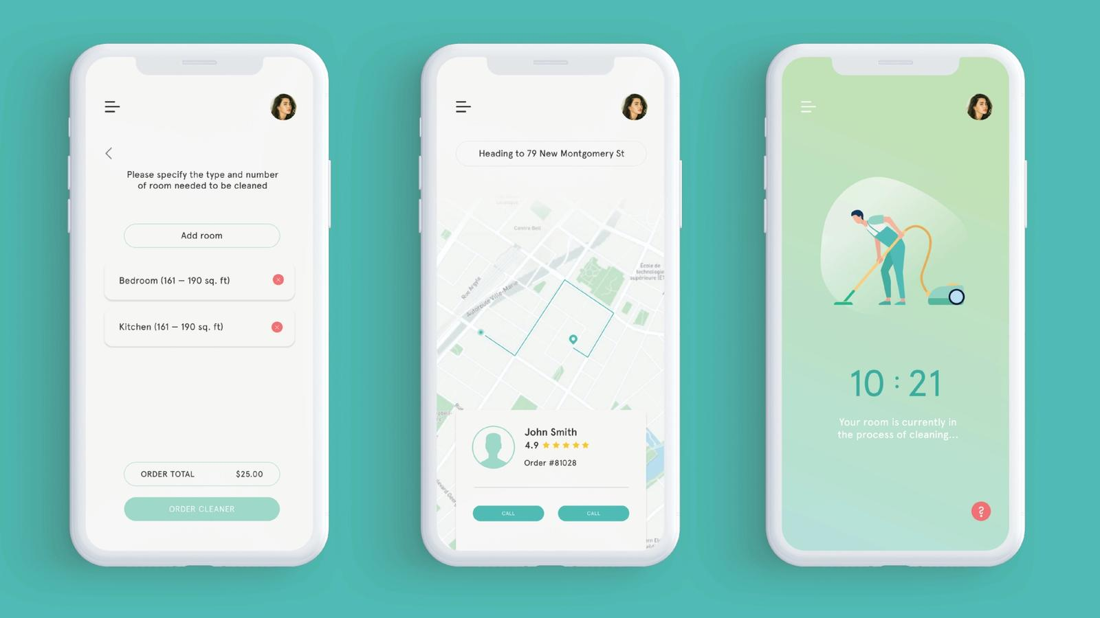 Tidy // Mobile Application