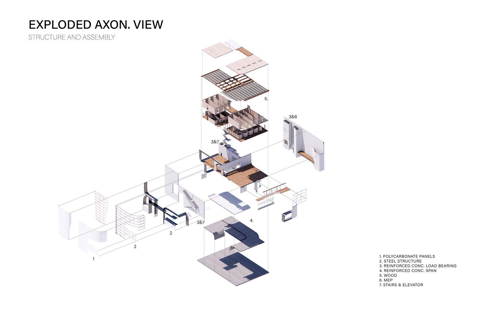 Exploded Axon Diagram