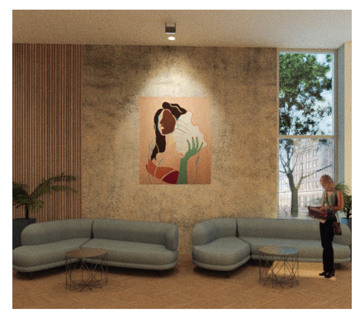 The Town Hotel - Lobby