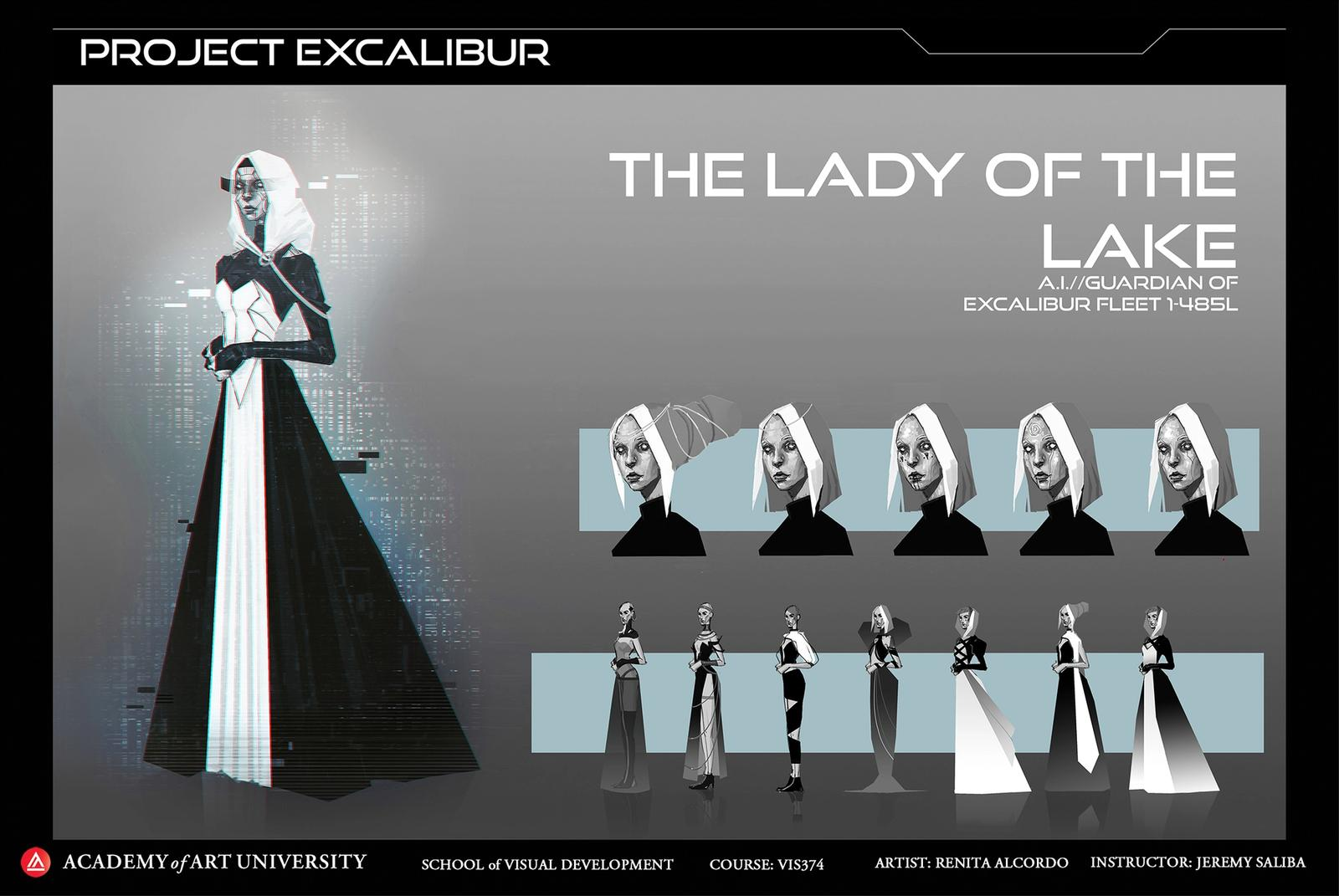 Project Excalibur: Lady of the Lake Design