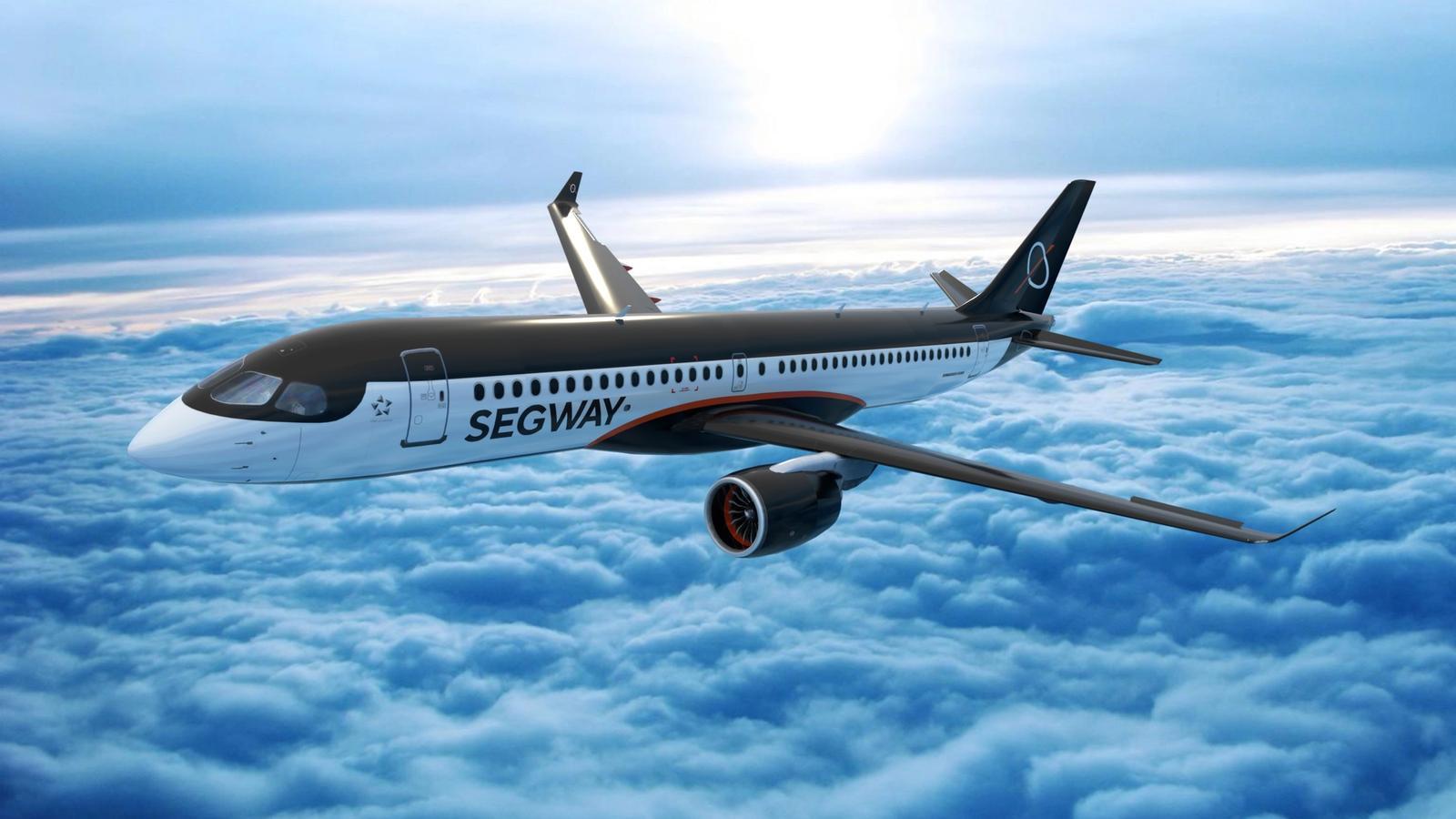 Segway Rebrand // Airplane Livery
