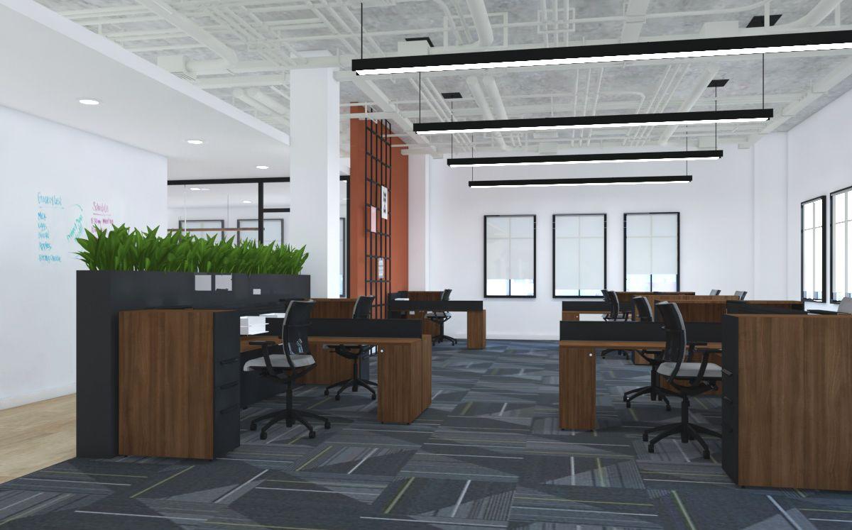Level2 - Open workplace area