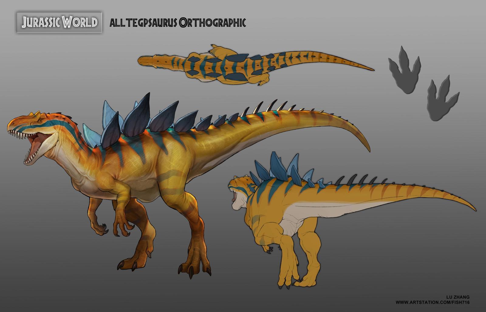 Jurrasic World - Alltegpsaurus