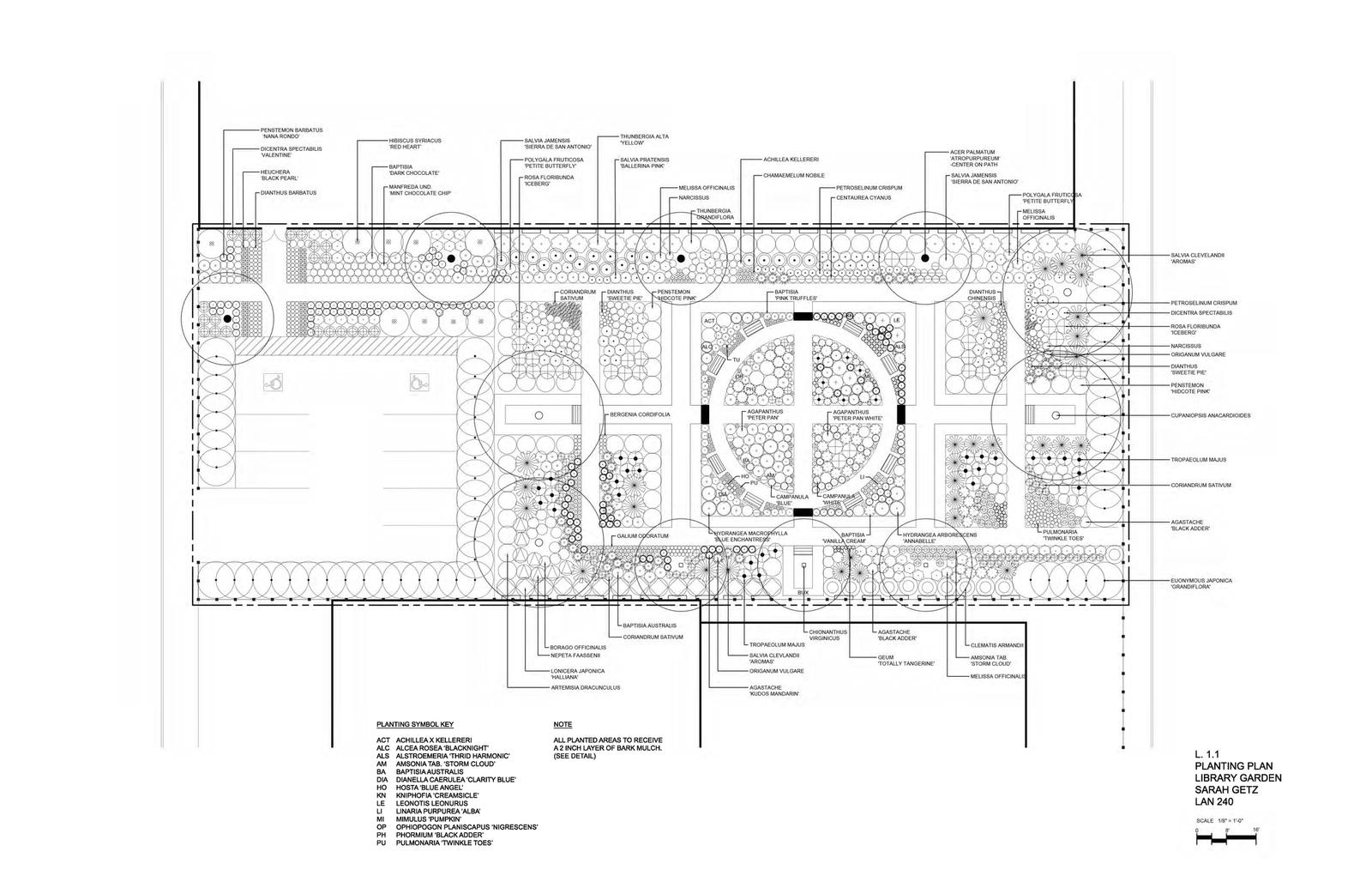 Library Garden for 601 Brannan Street Site 24