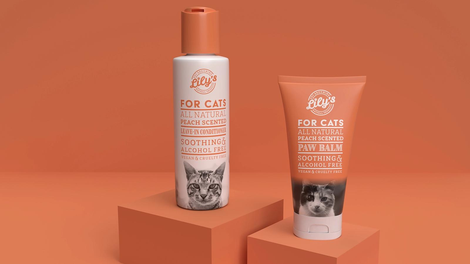 Lily's // Pet Grooming Packaging