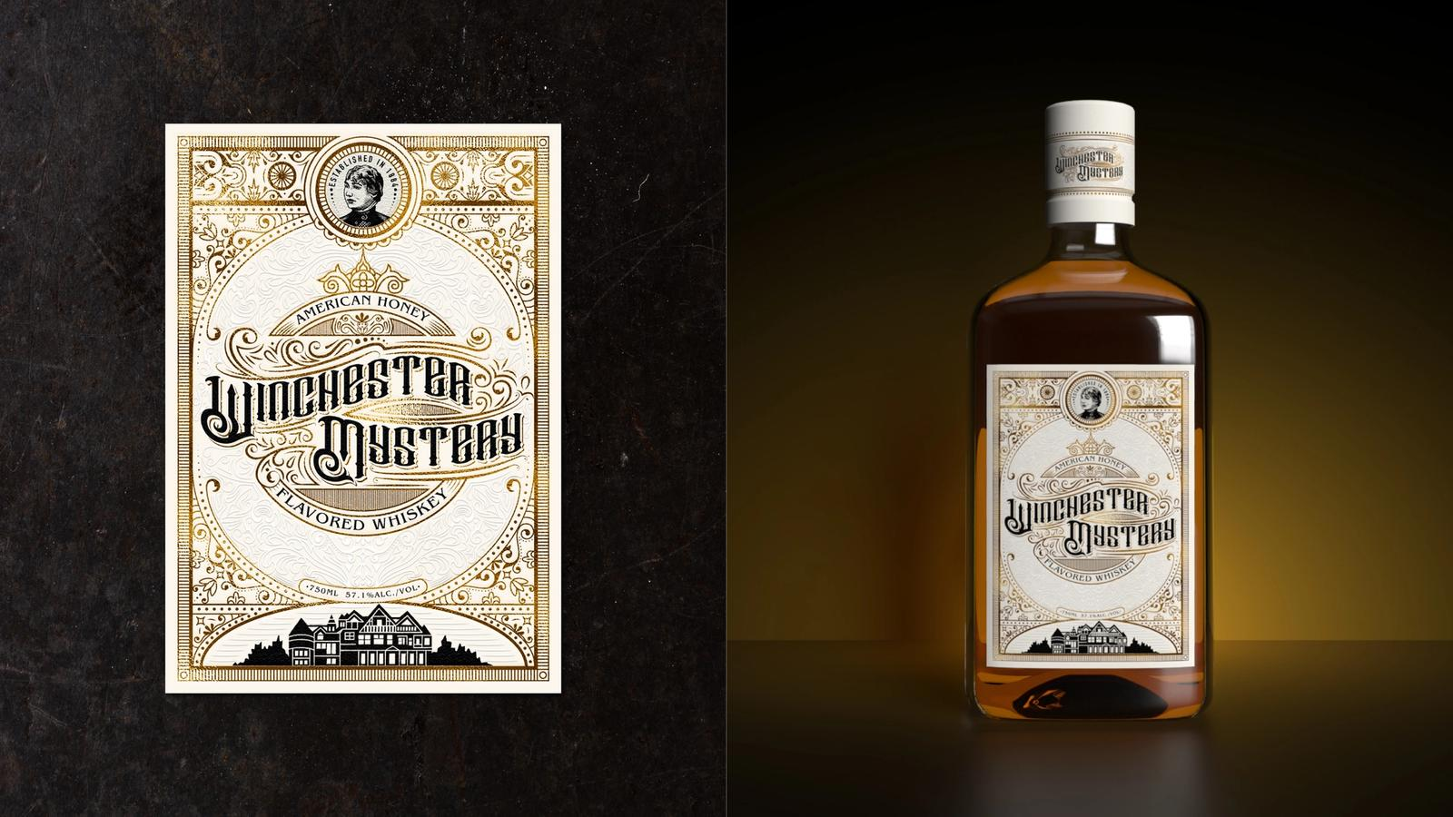 Winchester Mystery Whiskey // Product Packaging