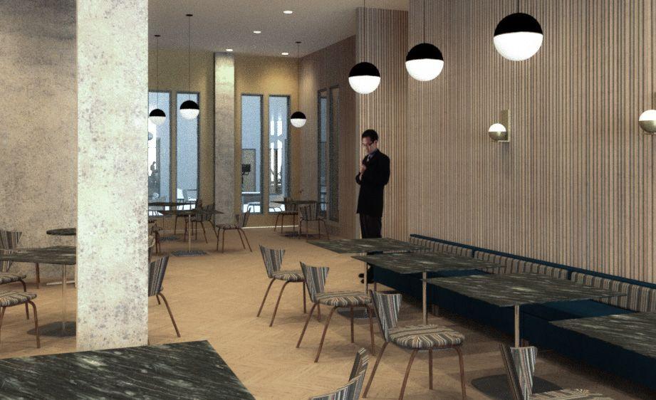 The Town Hotel - Interior Restaurant