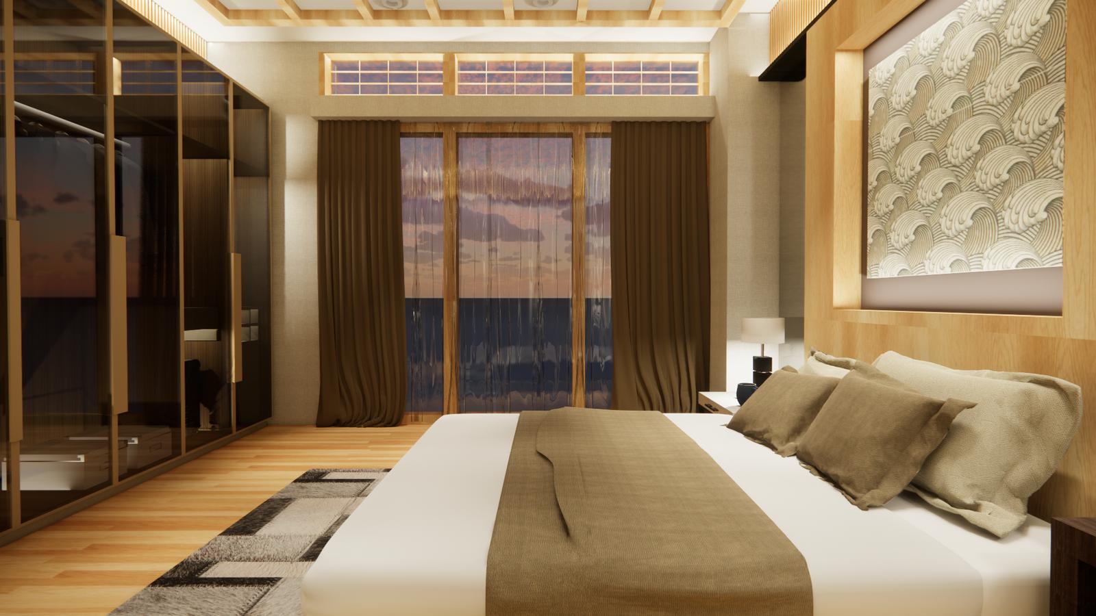 Naniwa Senior Living Center - Apartment Unit's Bedroom 1