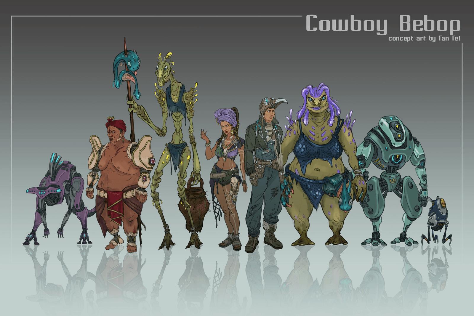 Cowboy Bebop Lineup