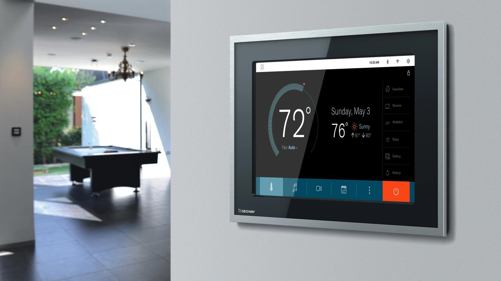Segway Rebrand // Residential Energy Console