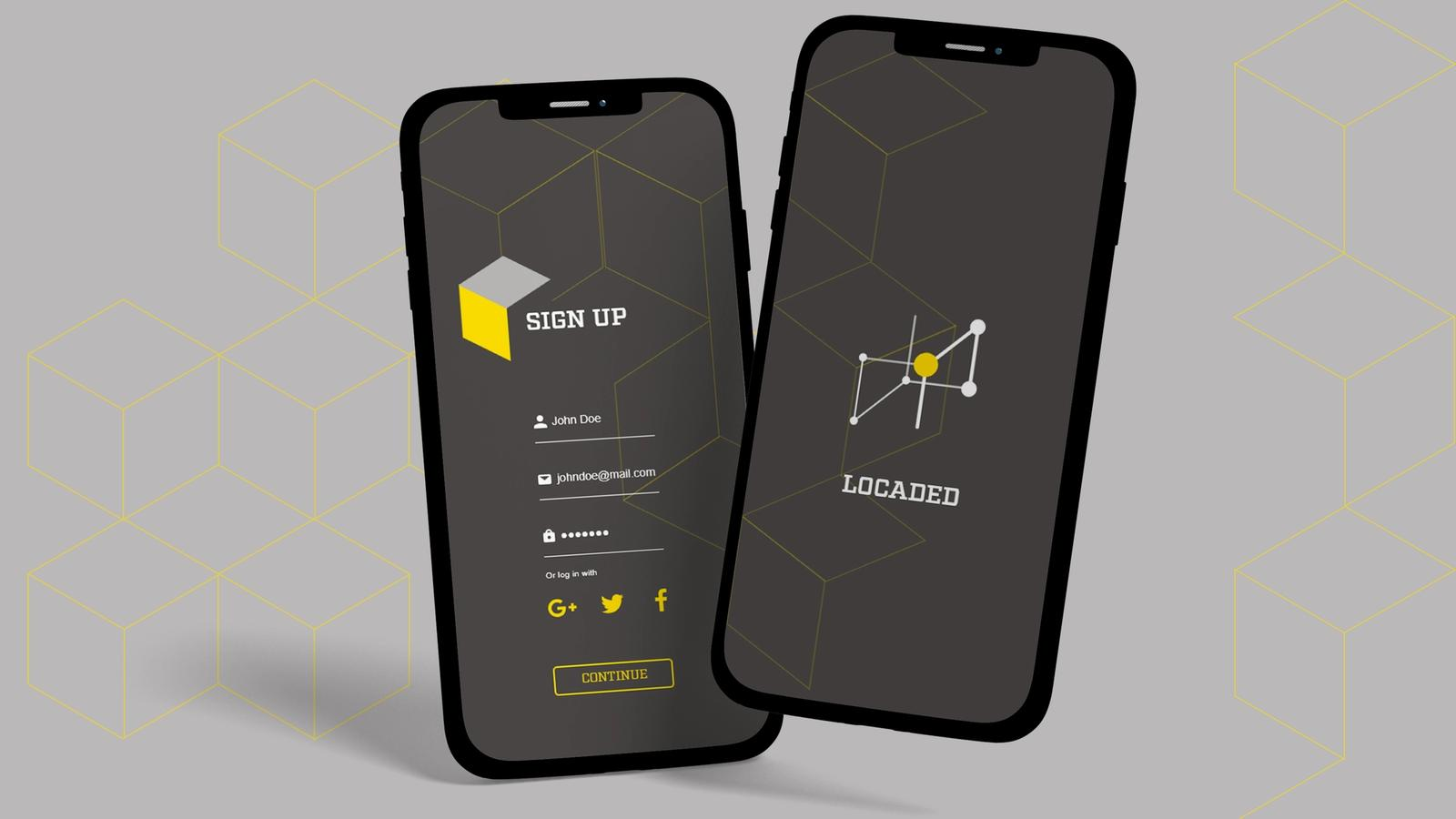 Locaded Mobile Application // MFA Thesis Project